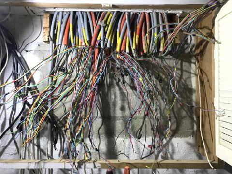 Tableau électrique avant après Essonne